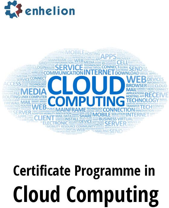 Enhelion Certificate Programme in Cloud Computing Certification Course(Voucher)