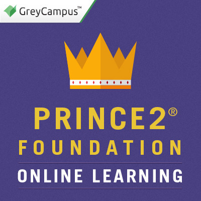 GreyCampus PRINCE2 Foundation - Online Learning Certification Course(Voucher)