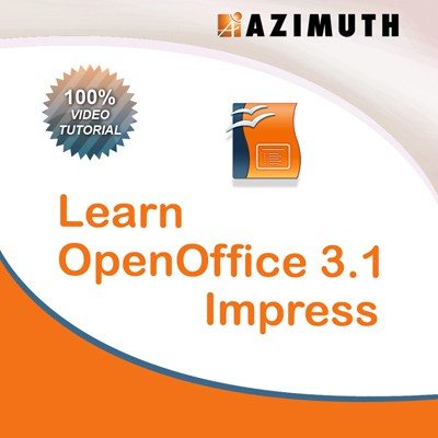 Azimuth Learn OpenOffice 3.1 Impress Online Course(Voucher)