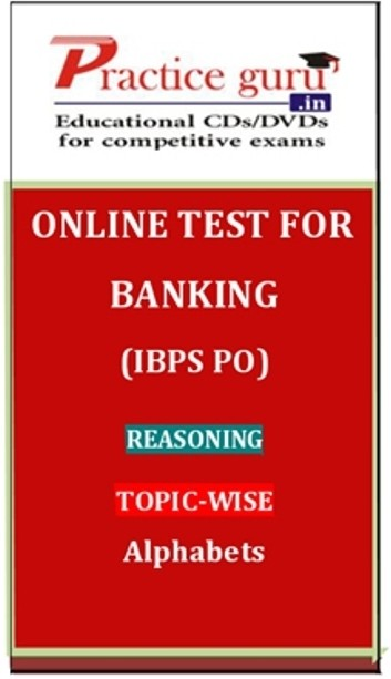 Practice Guru Banking (IBPS PO) Reasoning Topic-wise Alphabets Online Test(Voucher)