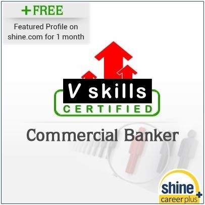 Careerplus V Skills Certified Commercial Banker Certification Course(Voucher)