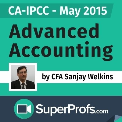 SuperProfs CA - IPCC Advanced Accounting by Sanjay Welkins (May 2015) Online Course(Voucher)