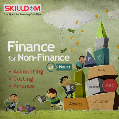 SKILLDOM Finance for Non - Finance : Accounting, Costing, Finance Certification Course(User ID-Password)