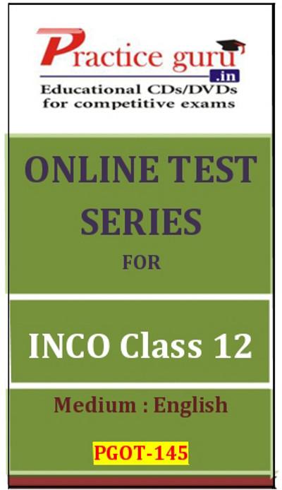 Practice Guru Series for INCO Class 12 Online Test(Voucher)