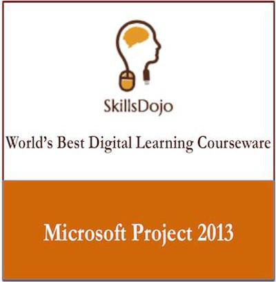 SkillsDojo Microsoft Project 2013 Online Course(Voucher)