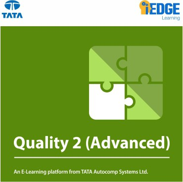 iEDGE Learning Quality 2 (Advanced) Certification Course(Voucher)