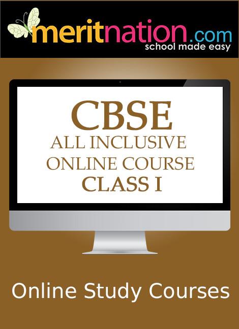 Meritnation CBSE - All Inclusive Online Course (Class 1) School Course Material(Voucher)