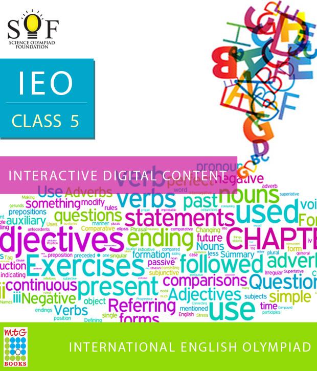 MTG IEO Class 5 - Interactive Digital Content Online Test(Voucher)