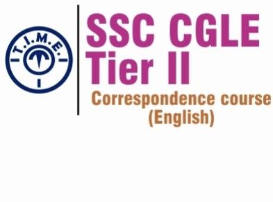 T.I.M.E. SSC CGLE Tier 2 Correspondence Course Online Course(Voucher)