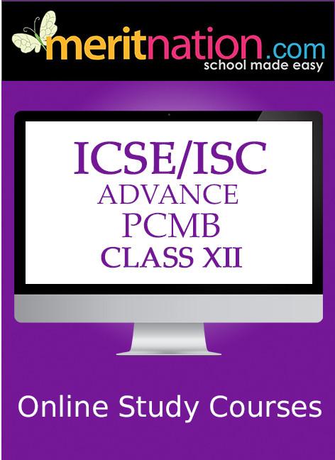Meritnation ICSE / ISC - Advance PCMB (Class 12) School Course Material(Voucher)