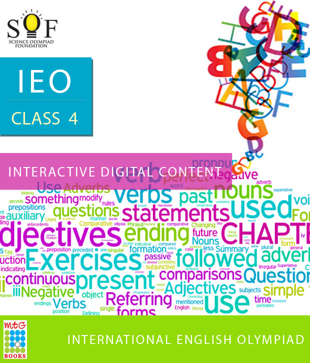 MTG IEO Class 4 - Interactive Digital Content Online Test(Voucher)