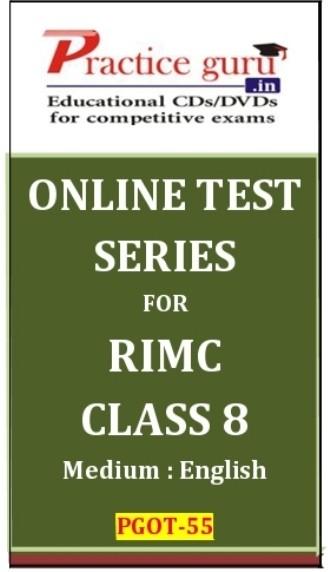 Practice Guru RIMC Class 8 Online Test(Voucher)