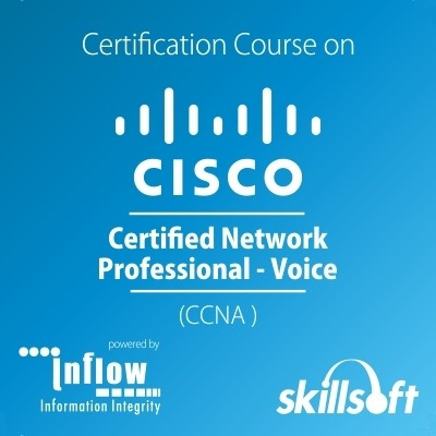 Skill Soft Cisco Certified Network Professional (CCNA) - Voice Certification Course(Voucher)