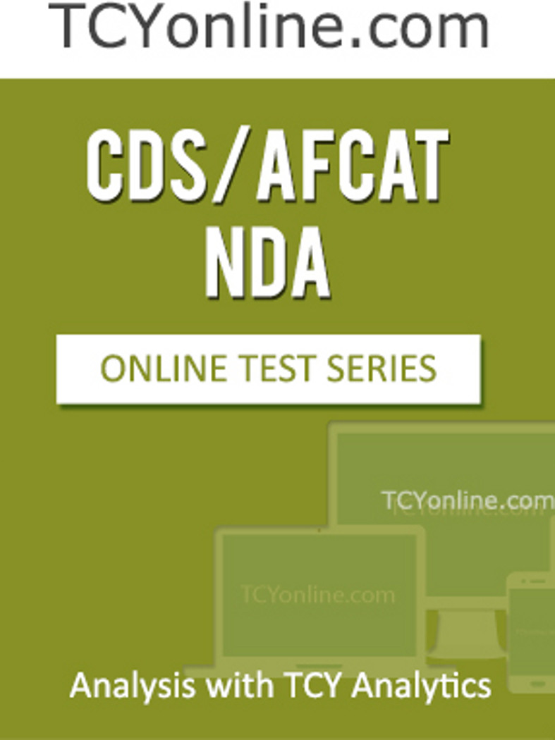TCYonline CDS / AFCAT / NDA - Analysis with TCY Analytics (5 Months Pack) Online Test(Voucher)