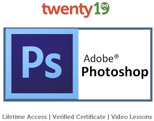 Twenty19 Smart Graphic Design with Adobe Photoshop Certification Course(Voucher)