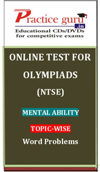 Practice Guru Olympiads (NTSE) Mental Ability Topic-wise Word Problems Online Test(Voucher)