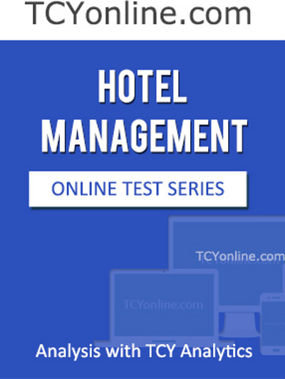 TCYonline Hotel Management - Analysis with TCY Analytics (7 Months Pack) Online Test(Voucher)