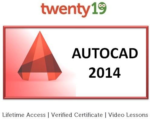 Twenty19 AutoCAD 2014 Certification Course(Voucher)