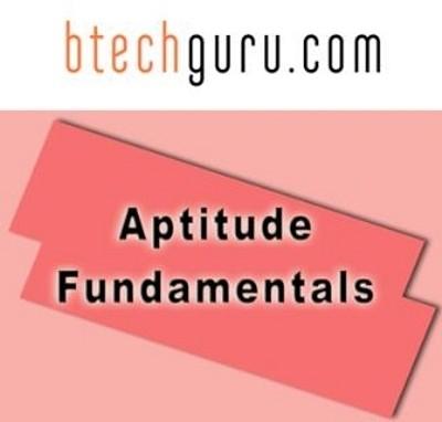 Btechguru Aptitude Fundamentals Online Course(Voucher)