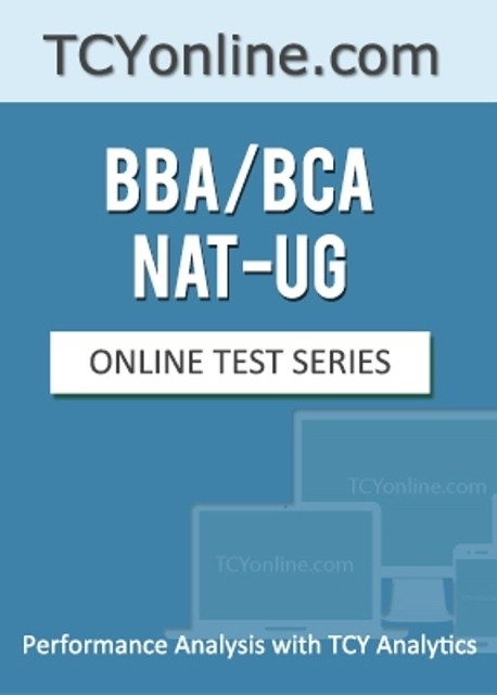 TCYonline BBA / BCA / NAT - UG : Performance Analysis with TCY Analytics (12 Months Pack) Online Test(Voucher)