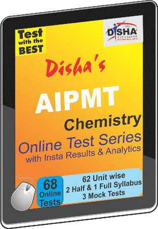 Disha Publication AIPMT - Chemistry with Insta Results & Analytics Online Test(Voucher)