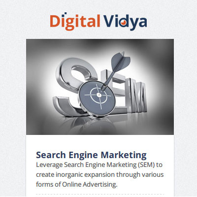 Digital Vidya SEM : Search Engine Marketing Certification Course(Voucher)