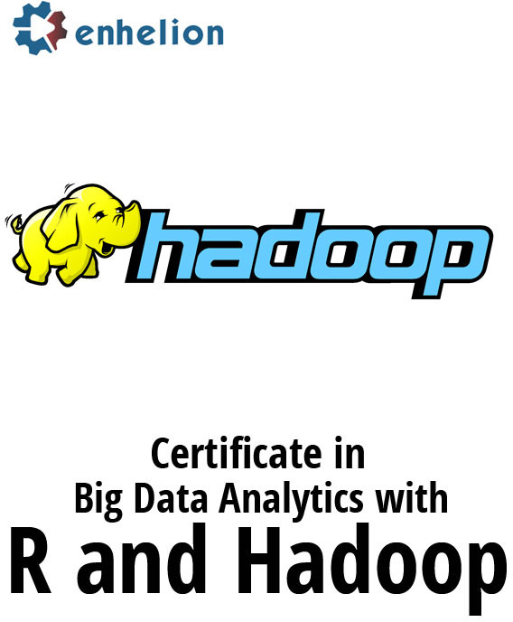 Enhelion Certificate in Big Data Analytics with R and Hadoop Certification Course(Voucher)