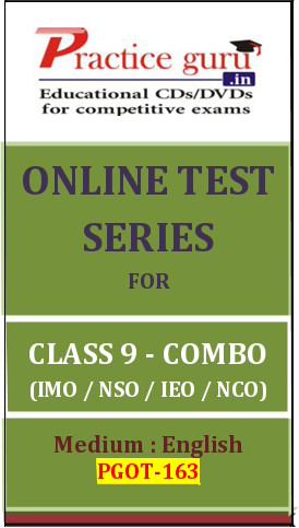 Practice Guru Series for Class 9 - Combo Pack - IMO / NSO / IEO / NCO Online Test(Voucher)