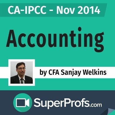 SuperProfs CA - IPCC Accounting by Sanjay Welkins (Nov 2014) Online Course(Voucher)