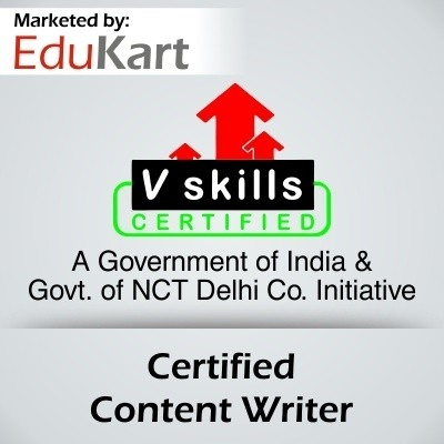 Vskills Certified Content Writer Certification Course(Voucher)
