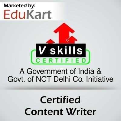 Vskills Certified Content Writer Certification Course(Voucher)