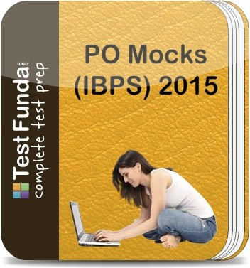 Test Funda PO Mocks (IBPS) - 2015 Online Test(Voucher)
