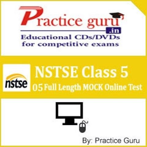 Practice Guru NSTSE Class 5 - 05 Full Length MOCK Online Test(Voucher)