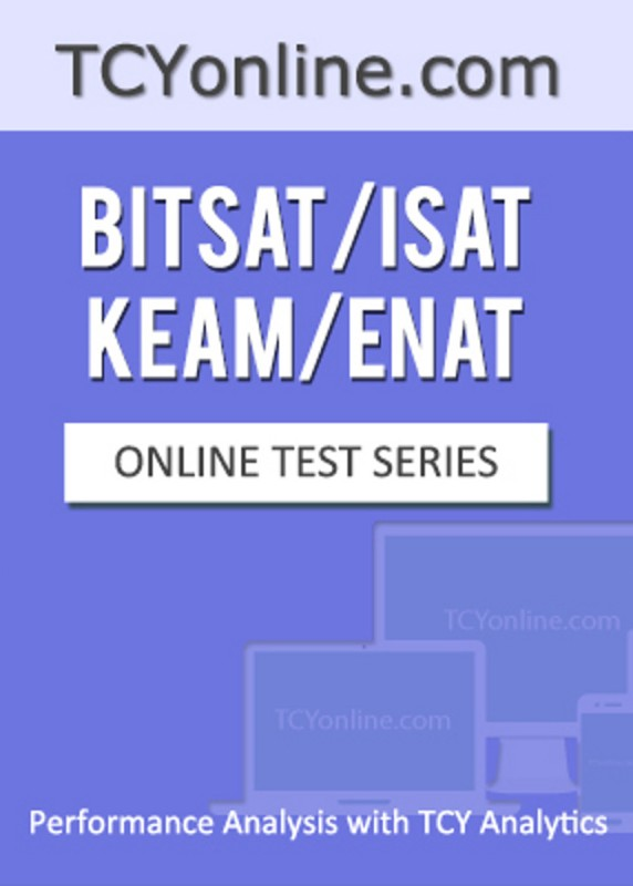 TCYonline BITSAT / ISAT / KEAM / ENAT - Performance Analysis with TCY Analytics (4 Months Pack) Online Test(Voucher)