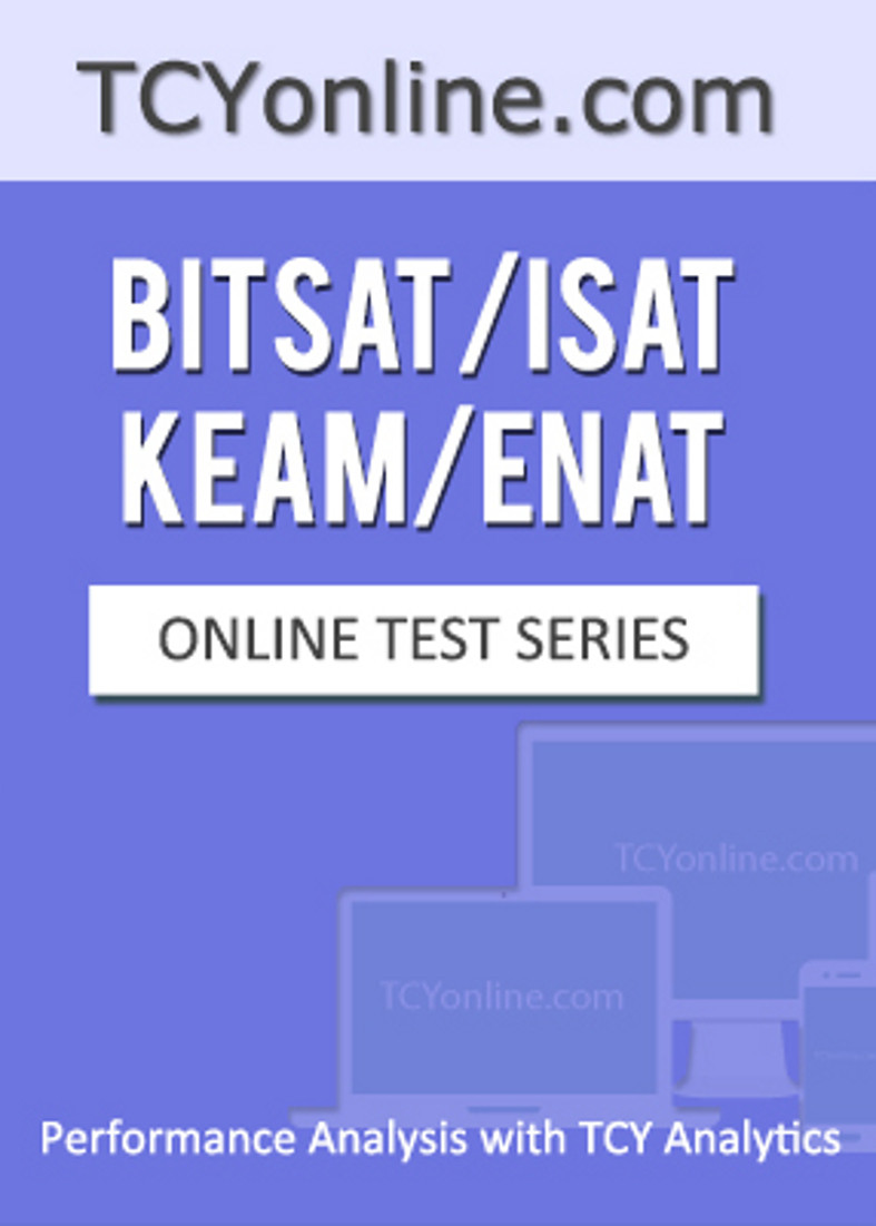 TCYonline BITSAT / ISAT / KEAM / ENAT - Performance Analysis with TCY Analytics (9 Months Pack) Online Test(Voucher)