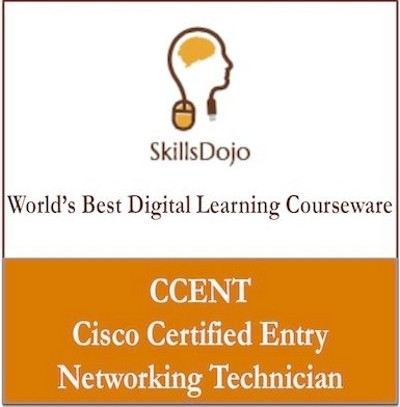 SkillsDojo CCENT - Cisco Certified Entry Networking Technician Certification Course(Voucher)