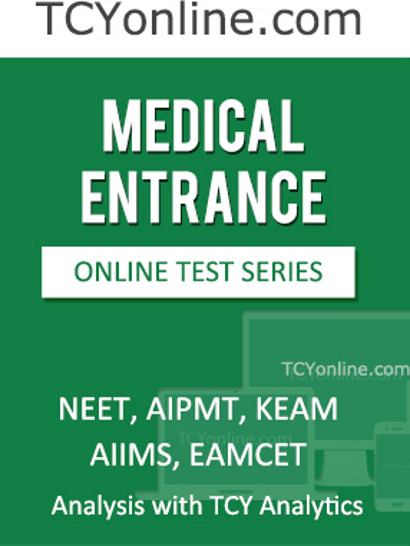 TCYonline Medical Entrance - Analysis with TCY Analytics (6 Months) Online Test(Voucher)