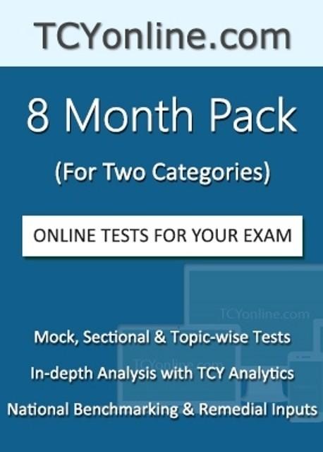 TCYOnline 8 Month Exam Prep Pack (2 Categories) Online Test(Voucher)