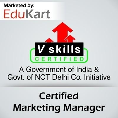 Vskills Certified Marketing Manager Certification Course(Voucher)