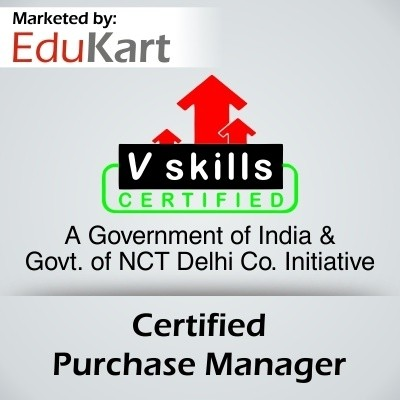 Vskills Certified Purchase Manager Certification Course(Voucher)