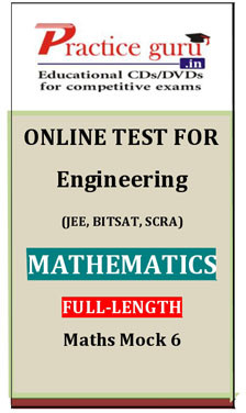 Practice Guru Engineering Mathematics Full-length Maths Mock 6 Online Test(Voucher)