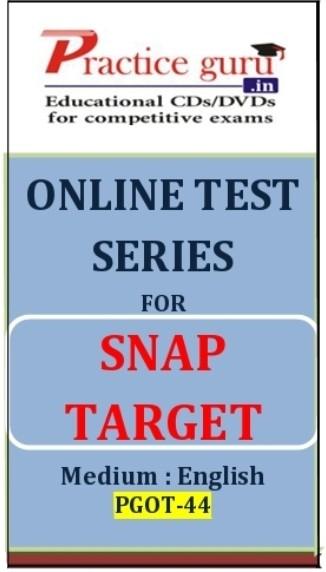 Practice Guru SNAP Target Online Test(Voucher)