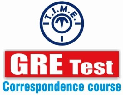 T.I.M.E. GRE Correspondence Course Higher Education(Voucher)