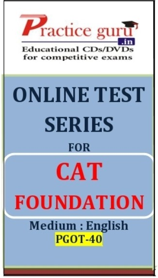 Practice Guru CAT Foundation Online Test(Voucher)