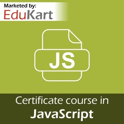 EduKart Certificate course in JavaScript - Certified by CSI Certification Course(Voucher)