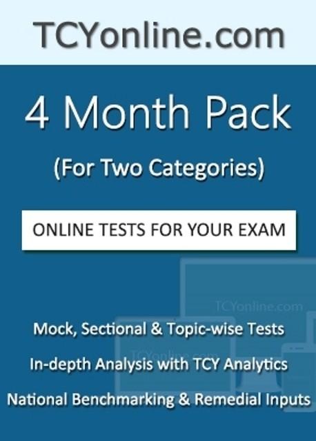 TCYOnline 4 Month Exam Prep Pack (2 Categories) Online Test(Voucher)