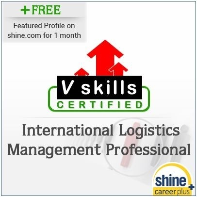 Careerplus V Skills Certified International Logistics Management Professional Certification Course(Voucher)