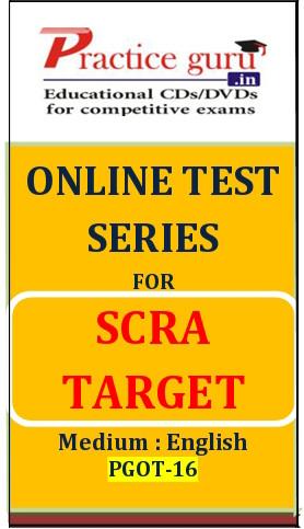 Practice Guru SCRA Target Online Test(Voucher)