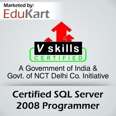 Vskills Certified SQL Server 2008 Programmer - V Skills Certified Certification Course(Voucher)