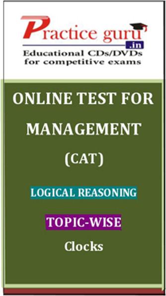 Practice Guru Management (CAT) Logical Reasoning Topic-wise - Clocks Online Test(Voucher)